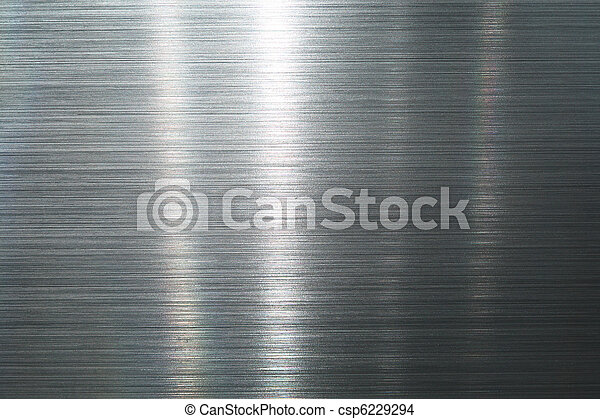 Brushed metal plate - csp6229294