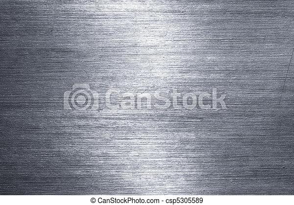 Brushed metal plate - csp5305589