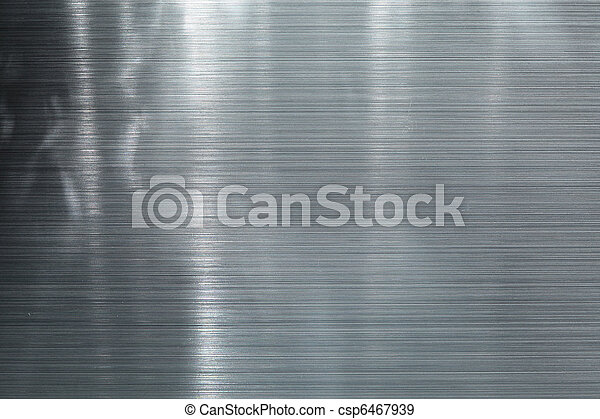 Brushed metal plate - csp6467939