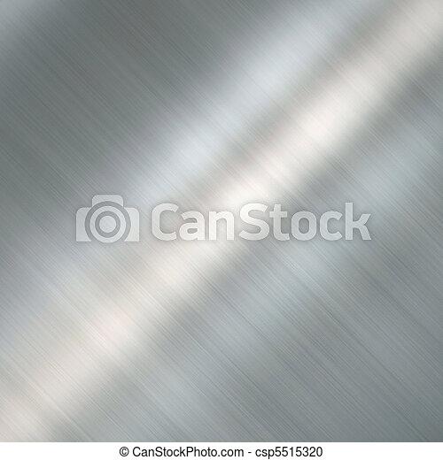 Brushed metal plate - csp5515320