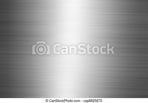 Brushed metal plate - csp8825870