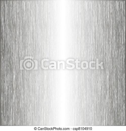 brushed metal template background vector illustration