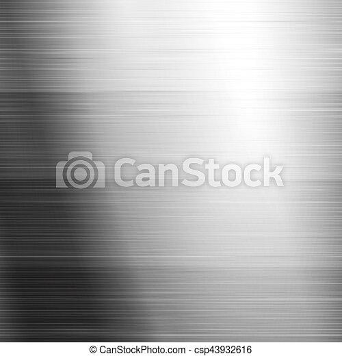 Brushed metal texture - csp43932616