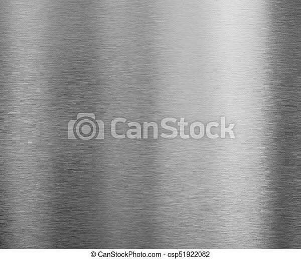 brushed silver metal plate - csp51922082