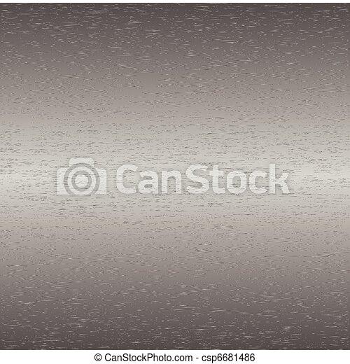 Brushed steel metal - csp6681486