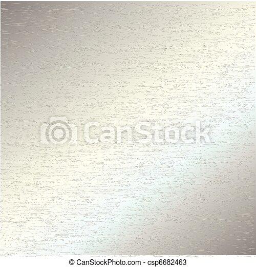 Brushed steel metal - csp6682463
