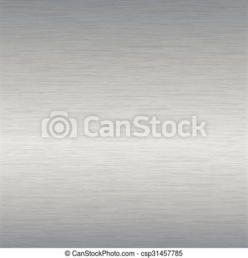 brushed steel surface - csp31457785