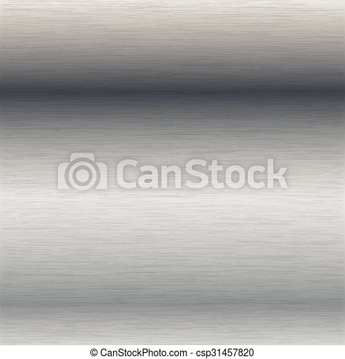 brushed steel surface - csp31457820