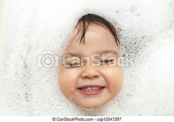 Bubble bath time - csp12547297