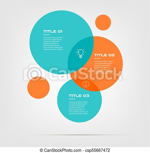 Bubble chart with elements venn diagram infographics for vectors bubble chart with elements venn diagram infographics for three circle design vector and marketing ccuart Gallery