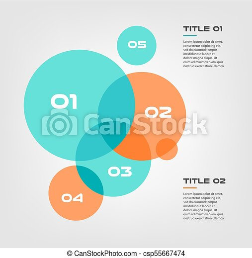 Bubble chart with elements venn diagram infographics for three bubble chart with elements venn diagram infographics for three circle design vector and marketing can be used for workflow layout annual report ccuart Images