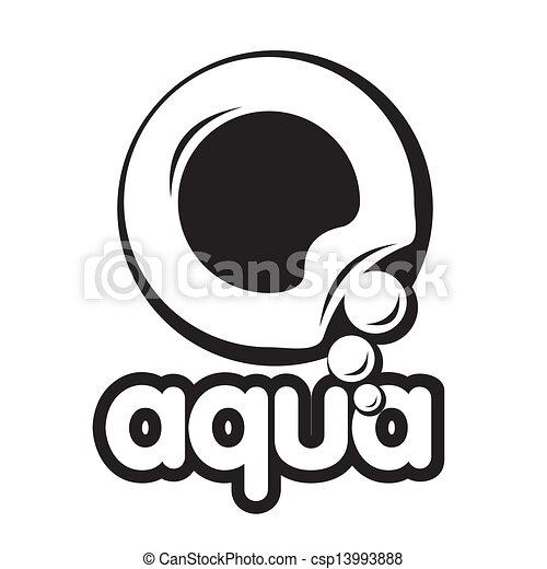 bubble logo - csp13993888