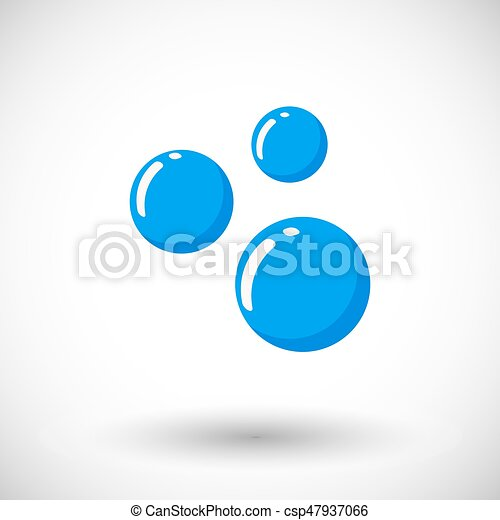 bubble vector flat icon soap or water bubble icon flat design of rh canstockphoto com bubble vector png bubble vector ai