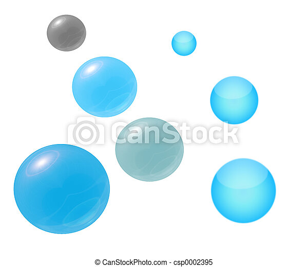 Bubbles and Orbs - csp0002395