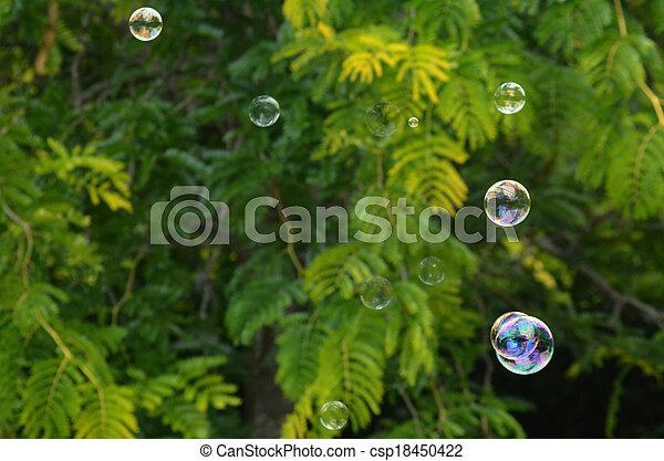 Bubbles - csp18450422