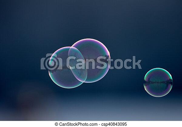 Bubbles - csp40843095