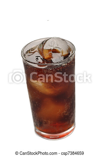 Bubbly Soda - csp7384659