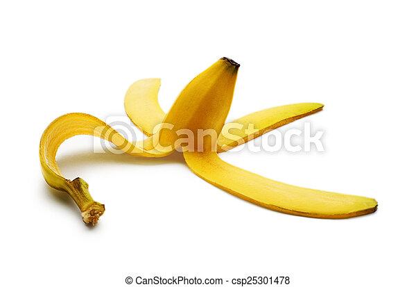 buccia banana - csp25301478