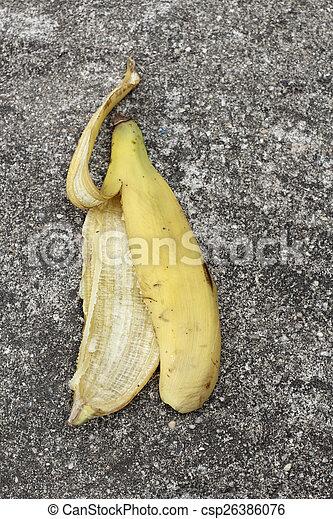 buccia banana - csp26386076
