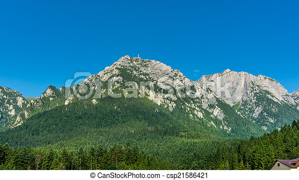 Bucegi Mountain - csp21586421