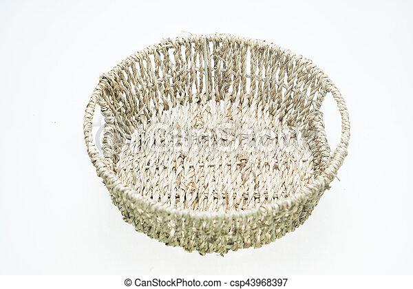 bucket isolated on white - csp43968397