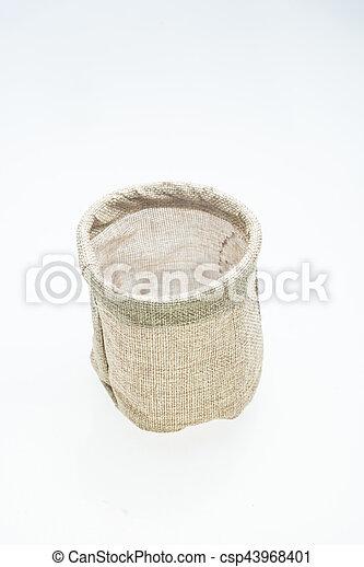 bucket isolated on white - csp43968401