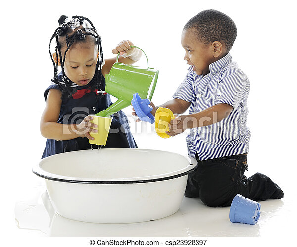 Bucket of Fun - csp23928397