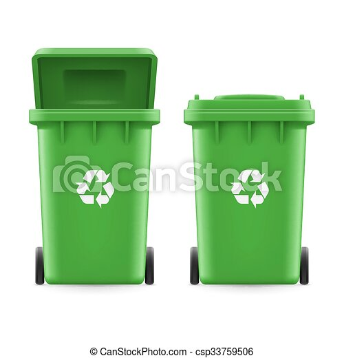 Buckets for trash - csp33759506
