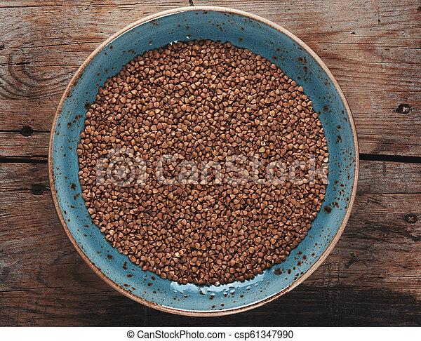 Buckwheat cereal grains - csp61347990