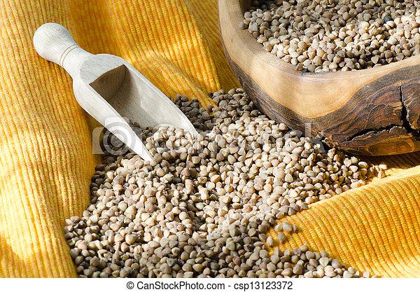 Buckwheat Groats - csp13123372