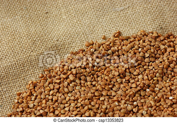 buckwheat groats - csp13353823