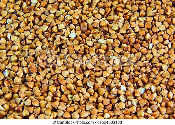 Buckwheat groats - csp24503138