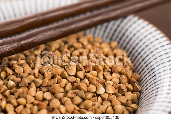 buckwheat groats - csp34055430