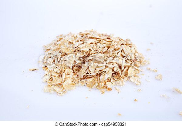buckwheat isolated on white background - csp54953321