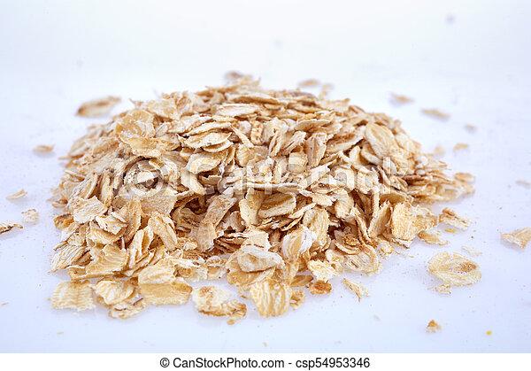 buckwheat isolated on white background - csp54953346