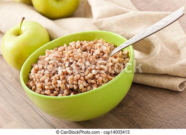 buckwheat porridge - csp14003413