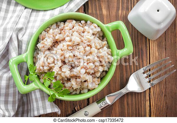 Buckwheat porridge - csp17335472