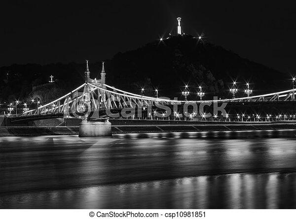 Budapest at night - csp10981851