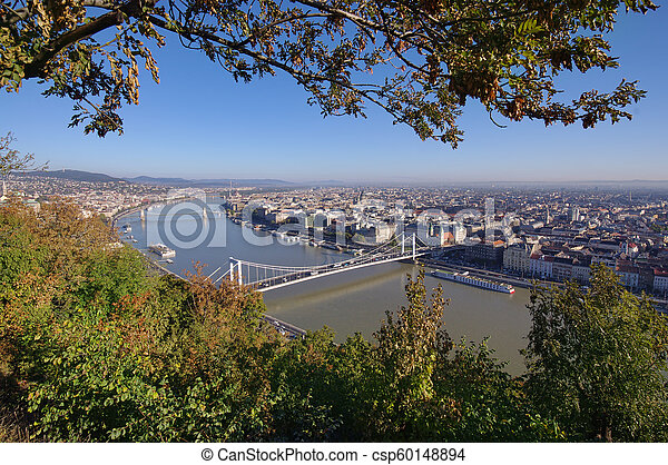 Budapest cityscape in day. Hungary - csp60148894