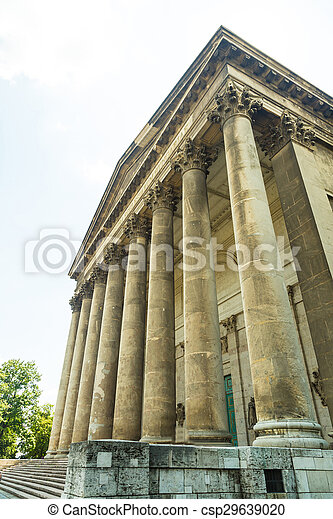 Budapest Hungary, Basilica of Esztergom  - csp29639020