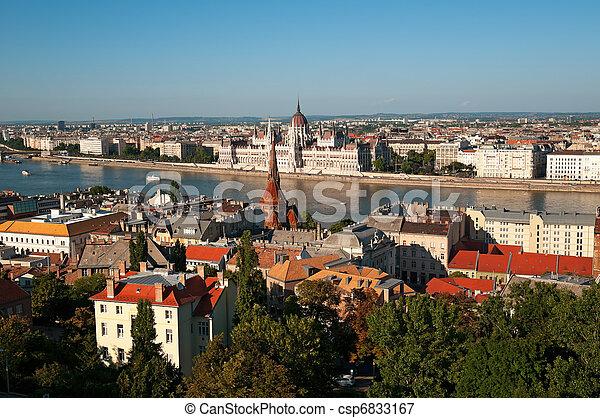 Budapest, Hungary  - csp6833167