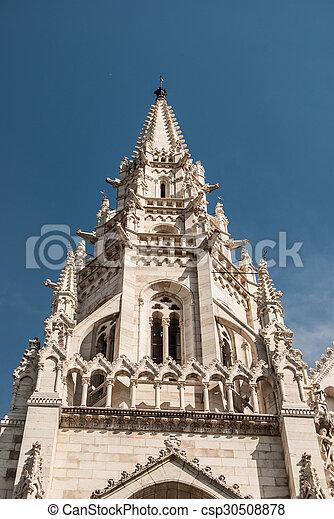 Budapest, parliament - csp30508878