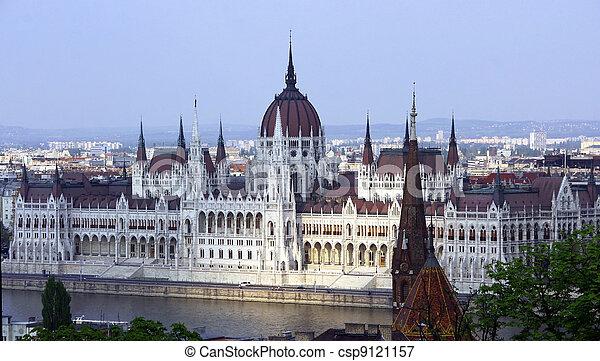 Budapest Parliament - csp9121157