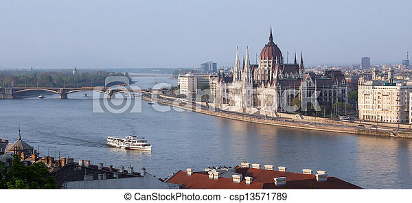 Budapest Parliament - csp13571789