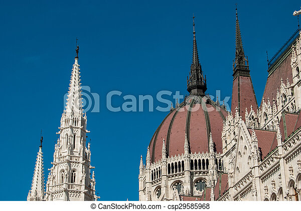 Budapest, parliament - csp29585968