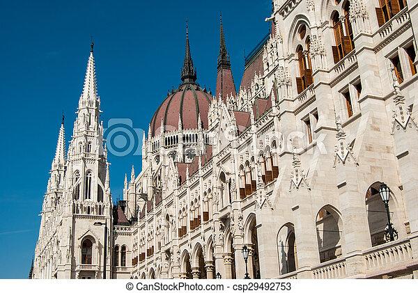 Budapest, parliament - csp29492753