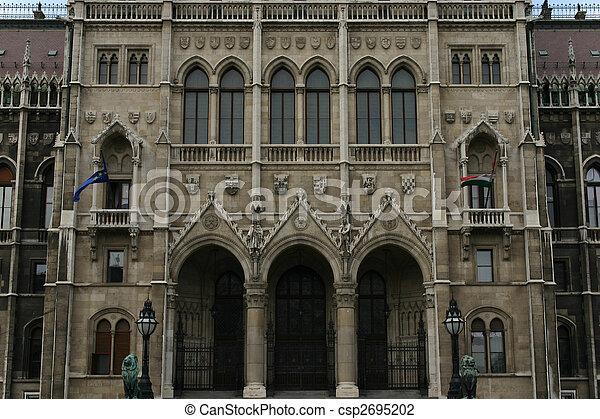 budapest parliament - csp2695202
