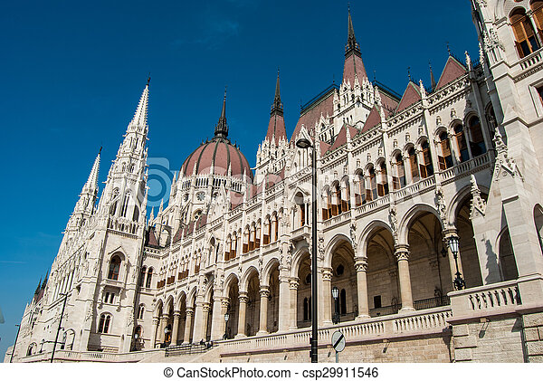 Budapest, parliament - csp29911546