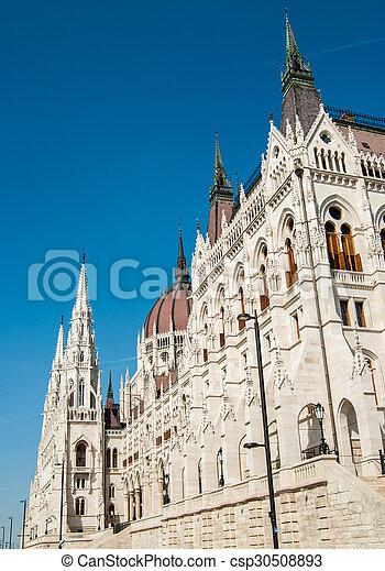 Budapest, parliament - csp30508893