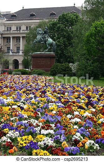 budapest parliament - csp2695213
